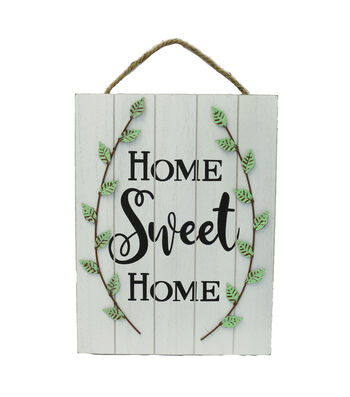 Wild Blooms 3D Fern Wall Decor-Home Sweet Home