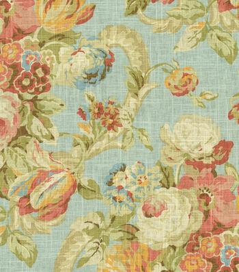 "Home Decor 8""x8"" Fabric Swatch-Waverly Spring Bling Cir Vapor"