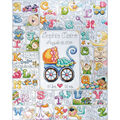 Baby ABC Counted Cross Stitch Kit-16\u0022X20\u0022 14 Count