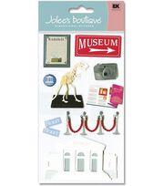 Jolee's Boutique Le Grande Dimensional Stickers-Museum, , hi-res