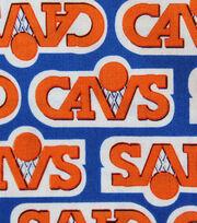 "Cleveland Cavaliers Knit Fabric 58""-Vintage Logo, , hi-res"