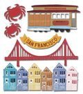 Jolee\u0027s Boutique Themed Stickers-San Fransisco