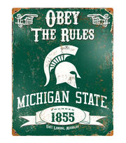 Michigan State University Spartans University Vintage Sign, , hi-res