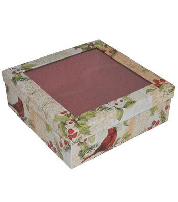 Maker's Holiday Medium Window Box-Winter Field Guide