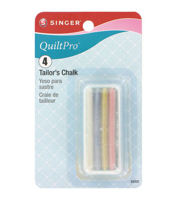 Tailors Chalk 4 Colors With Holder
