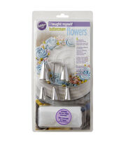 Wilton® I Taught Myself Buttercream Flowers Decorating Book Set, , hi-res