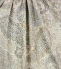 Optimum Performance Room Darkening Fabric 54\u0027\u0027-Slate Paisley