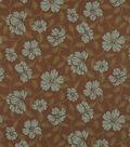 Home Decor 8\u0022x8\u0022 Fabric Swatch-Hibiscus Bloom Teal Blue