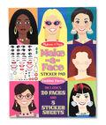 Make A Face Fashion Faces Sticker Pad