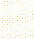 Quilter\u0027s Showcase™ Cotton Fabric 44\u0022-Yellow Dot On White