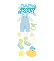 Touch Of Jolee's Dimensional Sticker-Baby Boy, , hi-res