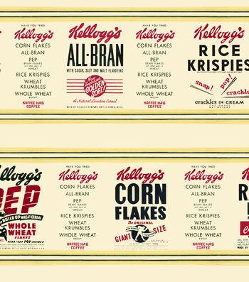 Kelloggs® Cotton Fabric 43''-Cereal Stripe