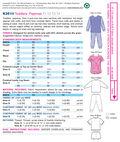 Kwik Sew Pattern K3510 Toddlers\u0027 Sleep & Lounge