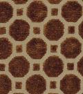 Robert Allen @ Home Upholstery Fabric 54\u0022-Velvet Geo Copper