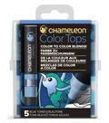 Chameleon 5 pk Color Tops Set-Blue Tones