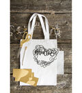 Hazel & Ruby Crafternoon Gold Foil Iron On Tote