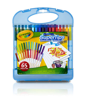 Crayola® Washable Super Tips Markers Kit