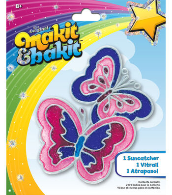 M B Glitter Butterfly