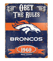 Denver Broncos Vintage Sign, , hi-res