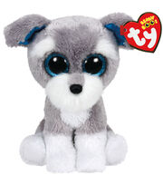TY Beanie Boo Whiskers Grey Schnauzer Dog, , hi-res