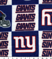 New York Giants Fleece Fabric 58''-Logo, , hi-res