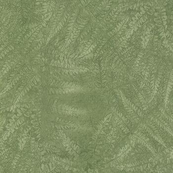 "Tablecloth Vinyl 54""-Laura's Leaf Sage"