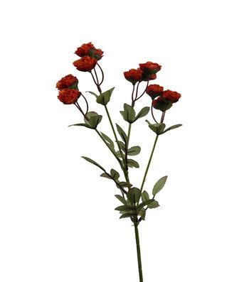 "Bloom Room 21.5"" Mini Rose Spray-Orange"