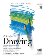 "Strathmore Drawing Paper 200 Series, 11""x14"", , hi-res"