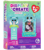 Beanie Boos Display & Create Frame Kit-Leona The Leopard, , hi-res