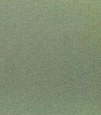"Glitterbug Satin Fabric 45""-Solid Silver"