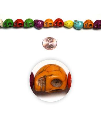 Fiesta Sm Skull Stone Beads