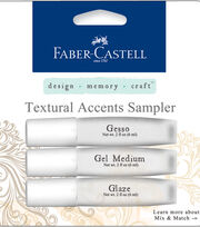 Faber-Castell design-memory-craft Textural Accents Sampler, , hi-res
