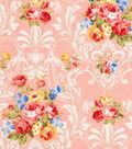 Premium Quilt Cotton Fabric 44\u0022-Nostalgia Floral