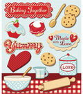 K & Company Stickers-Baking Together