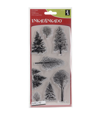 Inkadinkado® Clear Stamps-Woodland Wonderland