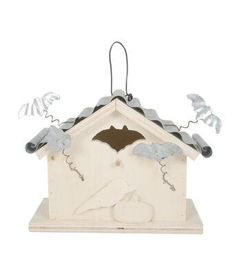 Fab Lab™ Wood House with Metal Bat
