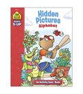 Activity Workbooks 32 Pages-Hidden Pictures Alphabet Ages 5+