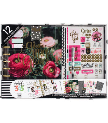 Create 365 Planner Box Kit-Have Faith