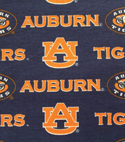 "Auburn University Tigers Canvas Fabric 58""-Logo, , hi-res"