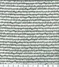 Novelty Cotton Fabric 43\u0022-Musical Notes White