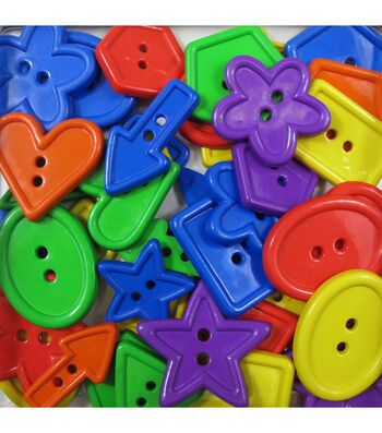 Favorite Findings Big Bag of Buttons-Shapes