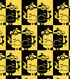 Minion Fleece Fabric 59\u0022-Checker