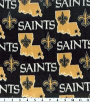 "New Orleans Saints Fleece Fabric 58""-State, , hi-res"
