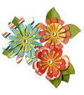 Sizzix Thinlits Lori Whitlock 10 Pack Die-Mix/Match Flowers