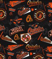 Baltimore Orioles Vintage Cotton Fabric 58''-Vintage, , hi-res