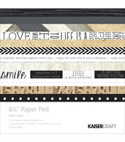"Kaisercraft Paper Pad 6.5""X6.5"" 40/Pkg-Hello Today, , hi-res"