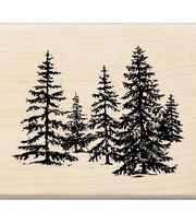 Inkadinkado Rubber Stamp-Stand Of Pines, , hi-res
