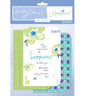 Mini Journals  White Green Purple Happin