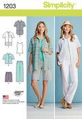Simplicity Pattern 1203AA 10-12-14-1-Sportswear