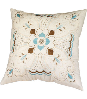"Janlynn Kaleidoscope Pillow Candlewicking Embroidery Kit-14""X14"""